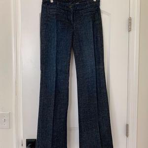 J Crew Trouser Flare Jeans